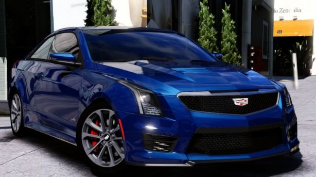 2016 Cadillac ATS-V Coupe - Кадилак