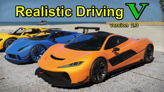 Realistic Driving V - реальная скорость, физика и разрушение машин