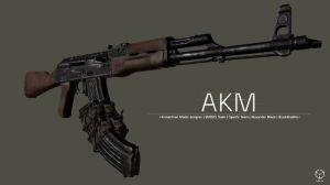 AKM-7.62 - мод на АКМ