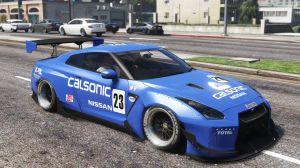 2010 Nissan GT-R Spec-V Pandem - Ниссан GT-R