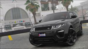 Range Rover Evoque 2016 - Эвок.