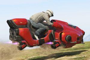 Sci-Fi Hover Bike - летающий байк