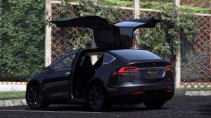 Tesla Model X P90D - Тесла модель X