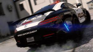 Mercedes-Benz - полицейский суперкар мерседес