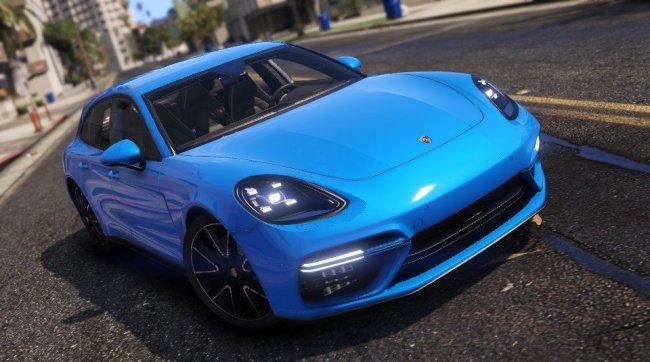 Porsche Panamera Turbo Sport Turismo - Порш Панамера Турбо Спорт