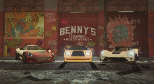 Мод на гараж Бенни для одиночной - New Benny's Original Motor Works