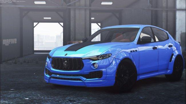 Мазератти Левант - Maserati Levante Novitec