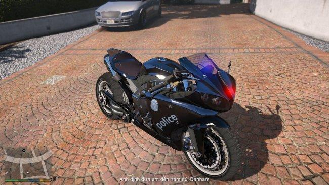 Полицейский байк - Robocop's Bike Custom