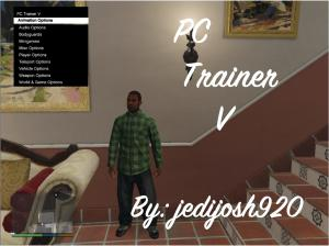 PC Trainer V лучший трейнер для gta 5 на pc