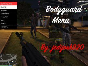 Bodyguard Menu - спавнер персонажей и людей в гта 5