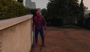 Spiderman - костюм человека-паука в гта 5