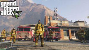 Firefighter Mod - мод на работу пожарным в гта 5
