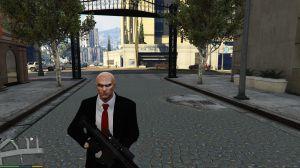 Agent 47 - скин Агента 47 из Хитман в гта 5