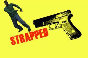 Strapped - анимация красиво достать пистолет