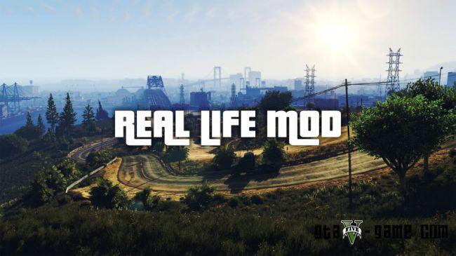 Real Life — Мод на реальную жизнь для gta 5