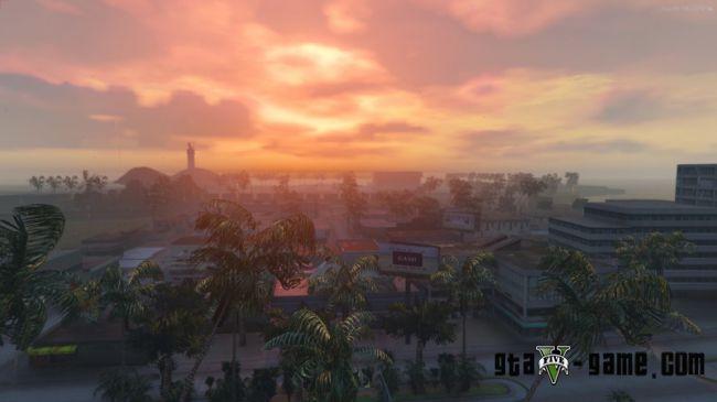 Vice City classic — Карта из GTA: Vice City