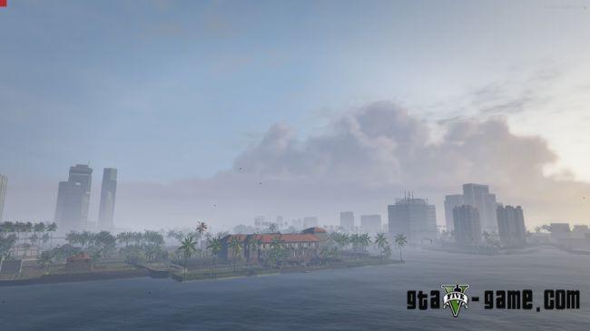 Vice City remastered — Улучшеная карта из GTA: Vice City