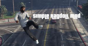 Simple Ragdoll Mod - как смешно падать в гта 5