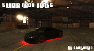 Toggle Neon Lights - включение выключение неона у машин