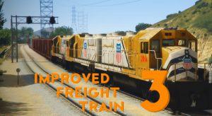Improved freight train длинные и реалистичные  поезда