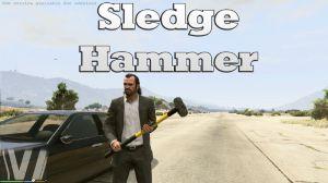 Sledge Hammer - кувалда в gta 5