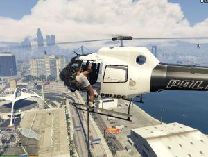 Rappel From  Helicopters - спуск с вертолета на канате