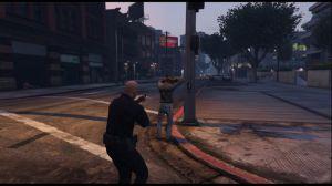 Arrest Peds V - мод на арест пешеходов в гта 5