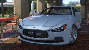 Maserati Ghibli S мод на мазератти для gta 5