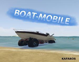 Boat-Mobile - мод на лодку машину монстра в гта 5