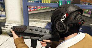 N7 Helmet Mass Effect 3 - шлем из Масс Эффект для гта 5