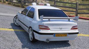 Peugeot 406 Taxi - машина из фильма Такси в гта 5