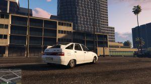 Русский автомобиль Ваз 2112 - лада двенашка в гта 5