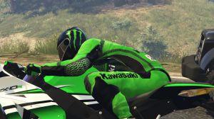 Kawasaki Riding Gear - гоночный костюм Кавасаки