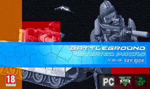 Battleground: Armored Packs мод на вызов поддержки\охраны