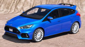 Ford Focus RS - спортивный форд фокус