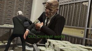DLC Criminal World - ограбление банков  в одиночной игре