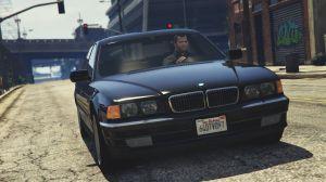 BMW 750i (e38) - старая БМВ для гта 5