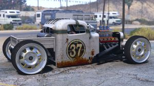 Dumont Type 47 Rat Rod - рет-род для гта 5