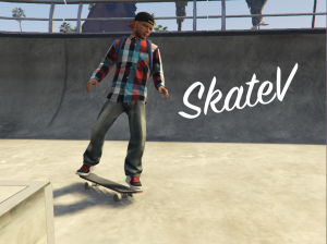 SkateV - скейт в гта 5