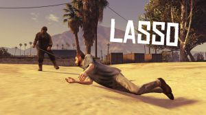 Lasso  - лассо из Red Dead Redemption для гта 5