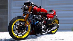 Honda CB750 Cafe Racer - спортивный мотоцикл Хонда