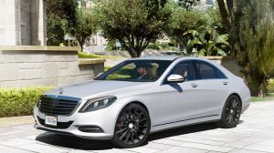 Mercedes-Benz S500 W222 - дорогой мерседес для гта 5