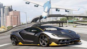 Lamborghini Centenario LP 770-4 - крутая тачка для гта 5