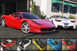 Ferrari 458 Italia & Spider две феррари