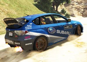 Subaru Impreza 3G Rally - раллийная импреза
